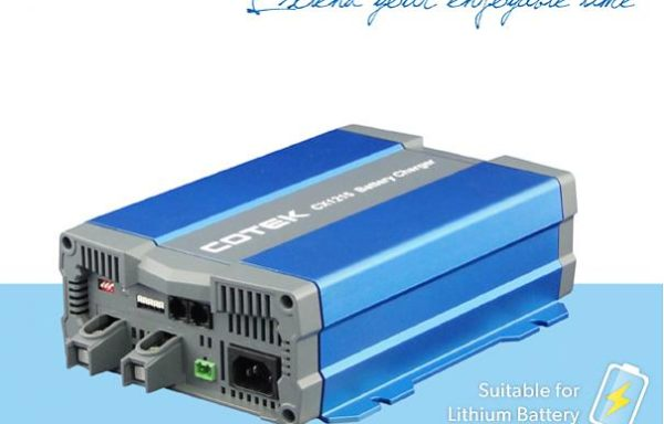 COTEK CX Cargadores de baterías de 12V y 24V
