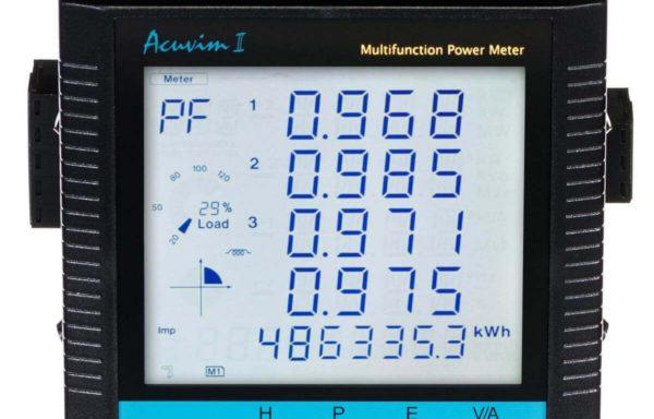 Acuvim II Analizador de potencia fijo