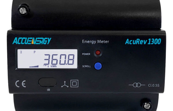 1310 Medidor de energía para riel DIN