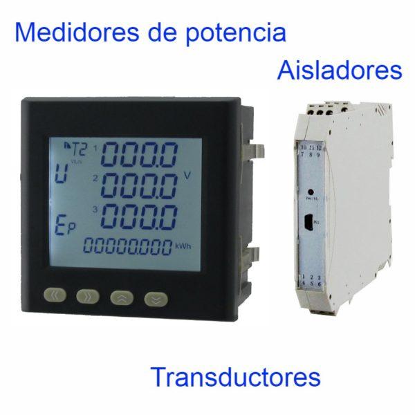 Medidores de panel