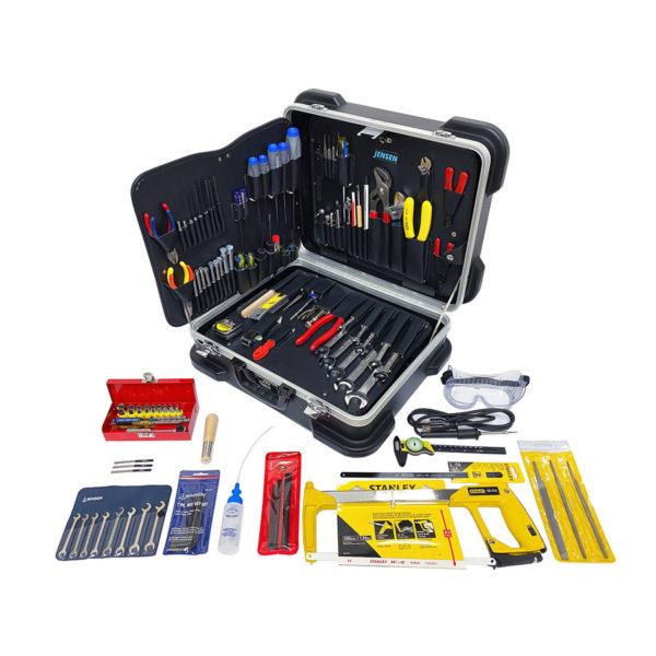 Maleta con herramientas para técnicos JTK-93