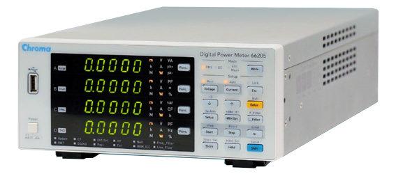 Chroma 66205 Analizador de potencia