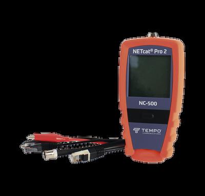 Tempo NC-500 Probador de cables con medición de distancia