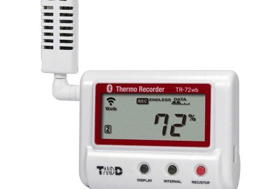 T&D TR-72wb Termo-higrómetro registrador